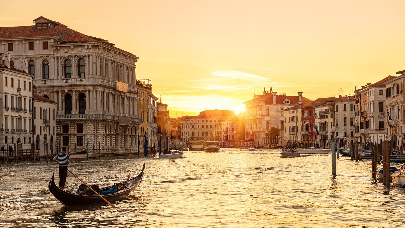 Venedig Reiseroute