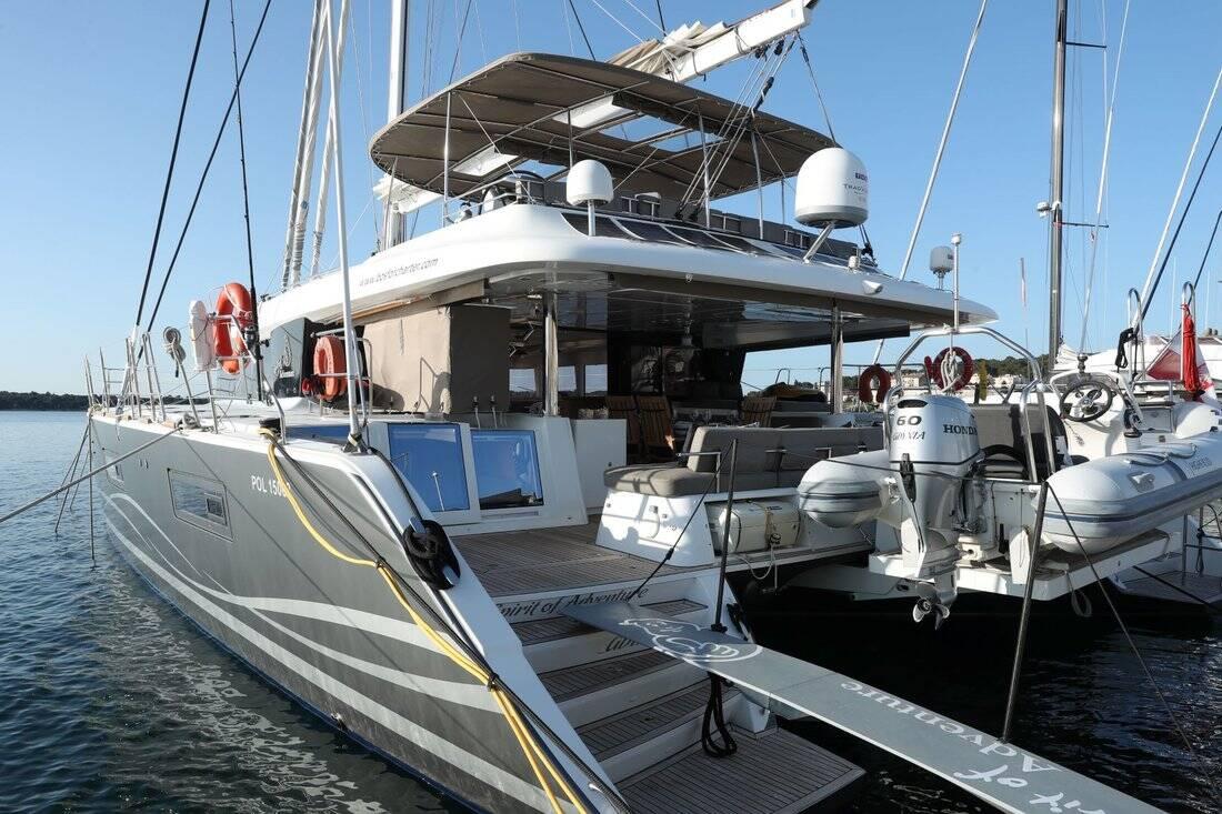 Lagoon 620  - Spirit of Adventure - Crewed (Skipper & Cook)